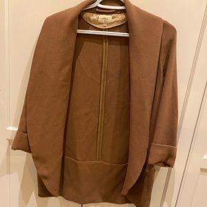 Tan Wilfred blazer jacket
